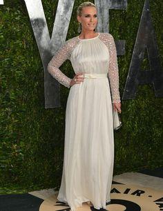 Molly Simms @ Vanity Fair Oscars Party 2013.