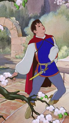 "The Prince from ""Snow White and the Seven Dwarfs"" Harry Stockwell sings so beautifully!! :') :') :') :')"