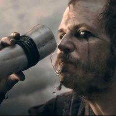 "Floki. Gustaf Skarsgård on ""Vikings,"" History Channel"