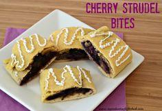Cherry Strudel Bites w/ Coconut Flour (gluten-free, grain-free)