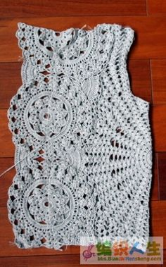 转载:有详细说明的钩衣你也能仿-手工编织坊 - 梅兰竹菊 - 梅兰竹菊的博客