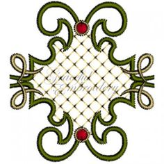 Graceful Machine Embroidery Designs On Pinterest