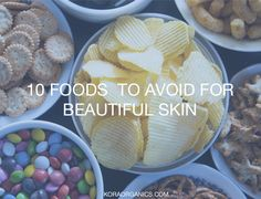 top ten list of toxic food offenders that will not only damage your skin but will make you age faster if you eat them routinely
