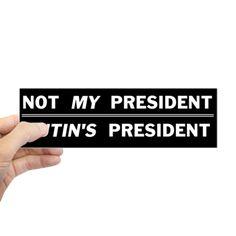 Putin's President Bumper Bumper Sticker