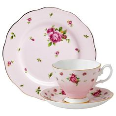 Royal Albert 3-Piece New Country Roses Teacup, Saucer and Plate Set, Pink Royal Albert http://www.amazon.com/dp/B0087CZOS6/ref=cm_sw_r_pi_dp_TRy0wb13VM9PA