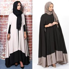 Jummah Mubarak everyone.  Our capes are now available to pre-order online. Delivery will be end of next week inshAllah. Order soon before they sell out again. #miragebynumra Islamic Fashion, Muslim Fashion, Modest Fashion, Latest Pakistani Dresses, Pakistani Dress Design, Eid Outfits, Fashion Outfits, Hijab Gown, Hijab Style