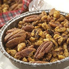 Spicy Garlic Nuts from King Arthur Flour Combine flavorful garlic oil with nuts and spices, toss well and bake.