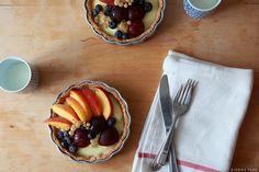 fresh fruit tart with vanilla pastry cream, blogged at sweetfineday
