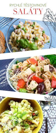 Rychlé těstovinové saláty