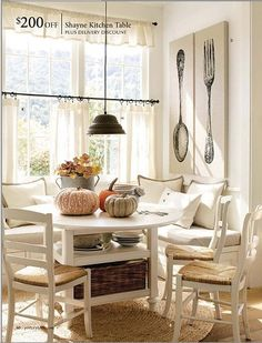 Breakfast Nook by Tamika Pearson