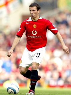 Liam Miller of Man Utd in Manchester United Players, Old Trafford, Fa Cup, Man United, Soccer Players, Terms Of Service, How To Memorize Things, The Unit, Style Inspiration