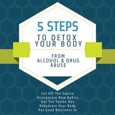 The Five Step Guide to Detoxifying Your Body from Drugs and Alcohol