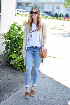 Calça Rasgada Jeans Claro olympiah