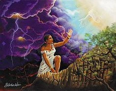 Precious Lord, Take My Hand by Lester Kern | The Black Art Depot