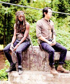 """Michonne & Glenn 5x10 """"Them"""""""