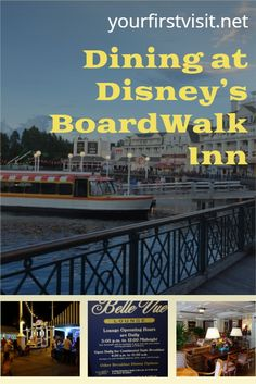 Disney World Resorts: Dining Options at Disney's BoardWalk Inn from yourfirstvisit.net | #DisneyWorldDining #DisneyWorldTips #DisneyWorldResorts #DisneysBoardwalkInn Disney World Deals, Disney World Food, Disney World Restaurants, Disney World Planning, Disney World Resorts, Disney S, Walt Disney World, Dining At Disney World, Disney World Characters