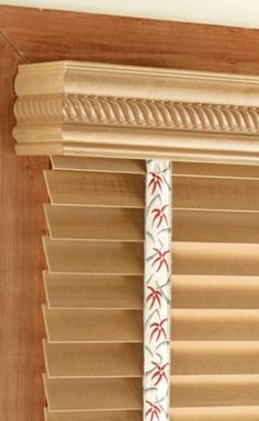 Window Wood Valances