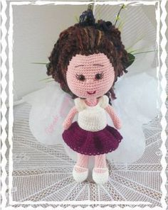 amigurumi-ucretsiz-tarifler – My CMS Crochet Dolls Free Patterns, Crochet Toys, Knitting Baby Girl, Amigurumi For Beginners, Cat Amigurumi, Toys For Girls, Free Food, Crochet Projects, Amigurumi Patterns