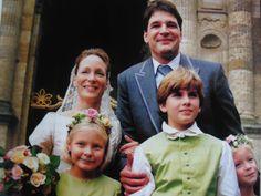 Margarita's eerste huwelijk met Edwin de Roy van Zuijdewijn