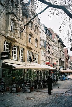 Alstadt cafes in Stuttgart  | by © albany_tim | via ysvoice
