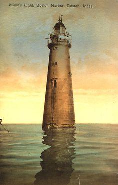 Image result for minot's ledge lighthouse