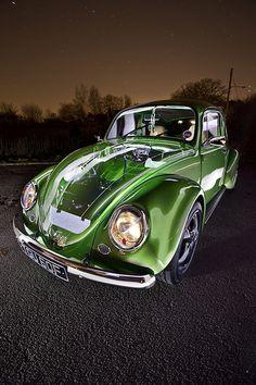 1968 VW Beetle powered by Subaru? Car Volkswagen, Vw T, Vw Camper, Ferdinand Porsche, Vw Bugs, Fancy Cars, Cool Cars, Hot Vw, Vw Vintage