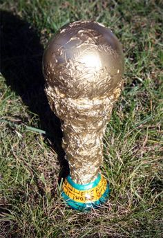 Make your own World Cup trophy, also instructions to make some brilliant stadium horns or vuvuzelas