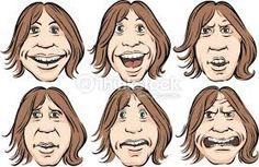 Bildresultat för caricature crying