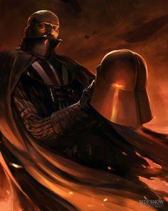 Star Wars Mythos: Darth Vader Concept Art & WIP Sculpt by Kai Lim ...