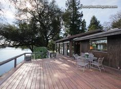Dream home on the American River