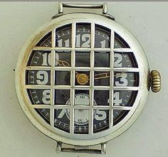 Trench Watches Instead of using pocket watches, during WWI, trench watches became strategic military tool to help leaders to coordinate precision attacks.