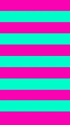 Stripes pink and mint
