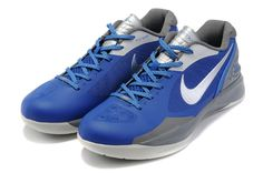 d6578079470f76 Nike Zoom Hyperdunk 2011 Low Cut Blue Silver Grey