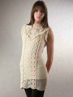 Um modelo mais belo que o outro!  Qual fazer? Inspirem-se é crochê é lindo!