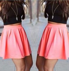I really want a high waisted skirt