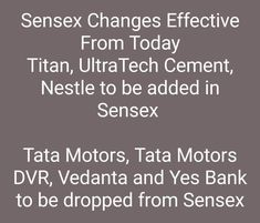 Stock Market Quotes, Yes Bank, Tata Motors, Marketing Quotes, Ads