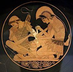 Pintura sobre vas, prop 500 a. C.
