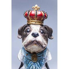 Κουμπαράς King Dog Ένας επιβλητικός άρχοντας, ο Βασιλιάς των σκύλων, κατασκευασμένος από polyresin, ένα μεγάλος κουμπαράς και συγχρόνως ένα υπέροχο διακοσμητικό στοιχείο στο χώρο.