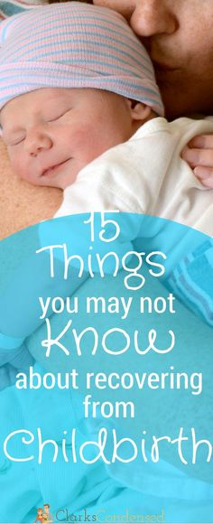 After having two babies, I can definitely say that all of these things happened to me - What you may not know about recovering from childbirth.