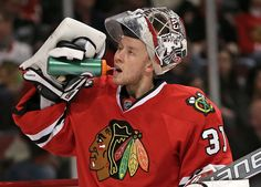Chicago  blackhawks   annti  raanta