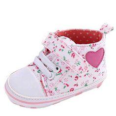 Oferta: 1.84€. Comprar Ofertas de Zapatos Bebé,Xinantime Zapato de Lona para Chica Rosa Linda (19, Blanco) barato. ¡Mira las ofertas!