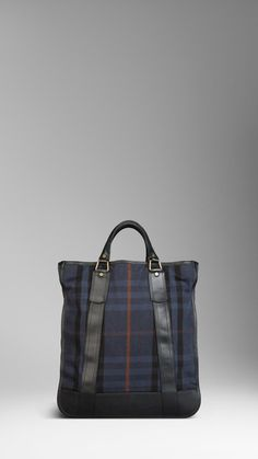 Large House Check Tote Bag | Burberry
