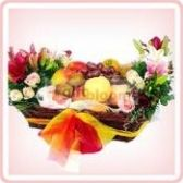 Colours Of Freshness- Lovely fruit basket arrangements deliver any where in Malaysia.