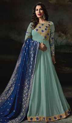 Looking for salwar kameez for women? Indian Suits & Salwar Kameez Online - Buy Anarkali Suits, Salwar Suits, Churidar Suits, Pants Suits and Palazzo Suits Online. Indian Anarkali, Long Anarkali, Pakistani Salwar Kameez, Indian Gowns, Anarkali Suits, Indian Suits, Indian Wear, Designer Anarkali, Anarkali Dress Online Shopping