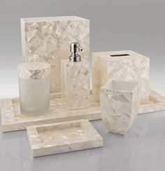 Mother Of Pearl Bathroom Accessories. Opaline Mother Of Pearl Shell Bathroom Set Design Inspiration Pinterest Opaline Bathroom Accessories And Woods