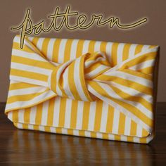 Square Knot Clutch Pattern PDF - to buy