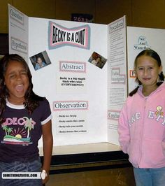 Science fairs have changed since I was in elementary school...