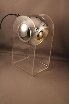 Fantastic 60s Table Lamp Light Space Age by ZeitreiseFrankfurt