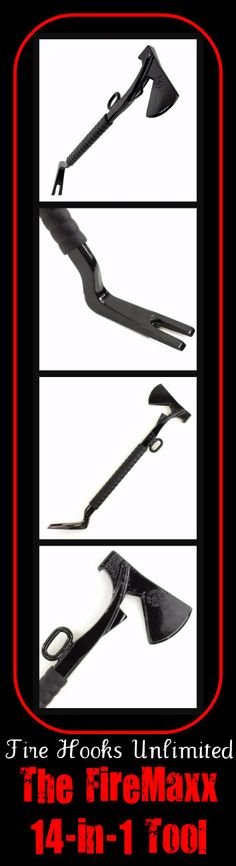 Fire Hooks Unlimited... The FireMaxx 14-in-1 Tool. Simply put... What more could you ask for? #TheFireStore #Firefighter