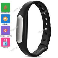 Fashion New Xiaomi MiBand Smart Bracelet Silicone Band Wristband for Xiaomi Android 4.4 Men Women Smart Watch WWT-350920